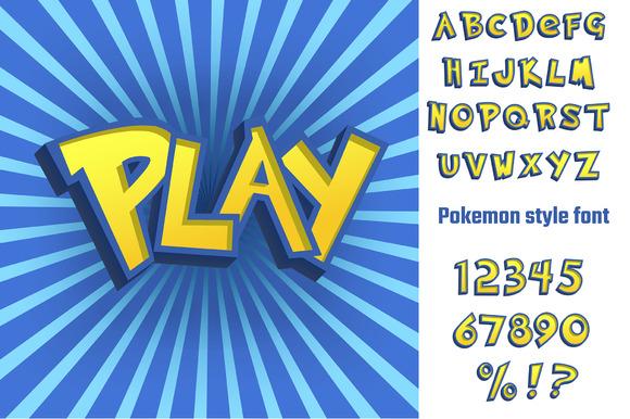 Pokemon Alphabet Letters Images