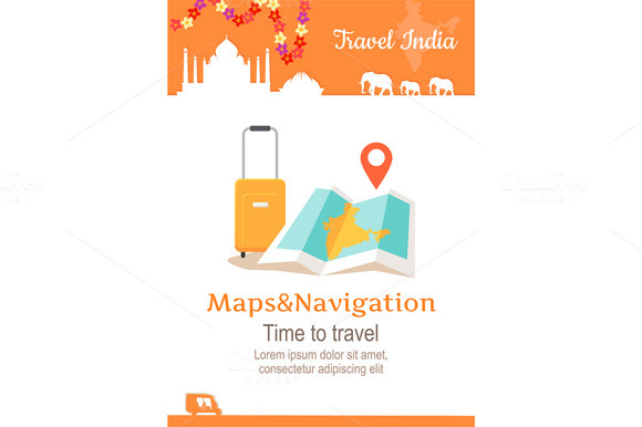 Travel India Conceptual Poster