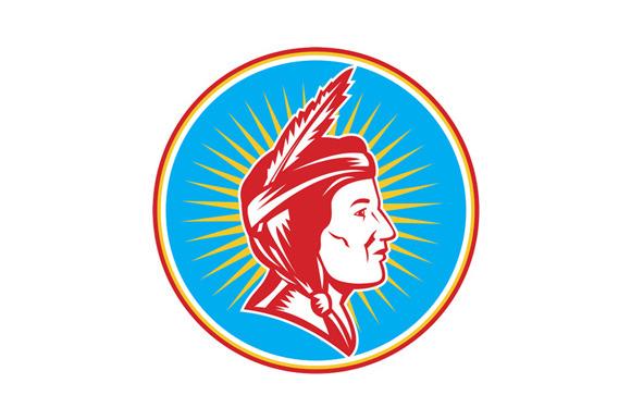 Native American Indian Squaw Circle