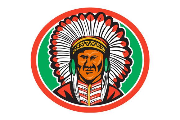 Native American Indian Chief Headdre