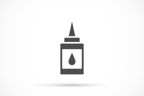 Doodle Glue Icon