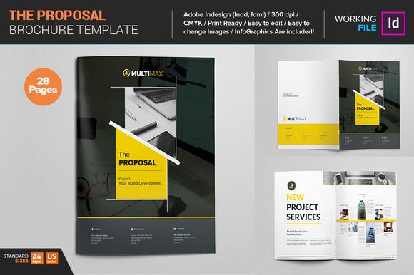 Proposal Template - Brochures