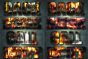 32 Extreme War Layer Styles-Graphicriver中文最全的素材分享平台