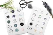 Feminine Logo Kit + BONUS-Graphicriver中文最全的素材分享平台