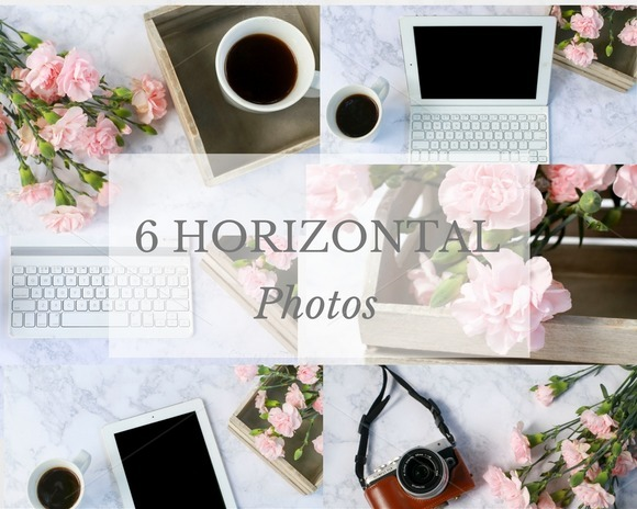 Pretty Photo Bundle for Bloggers - Product Mockups