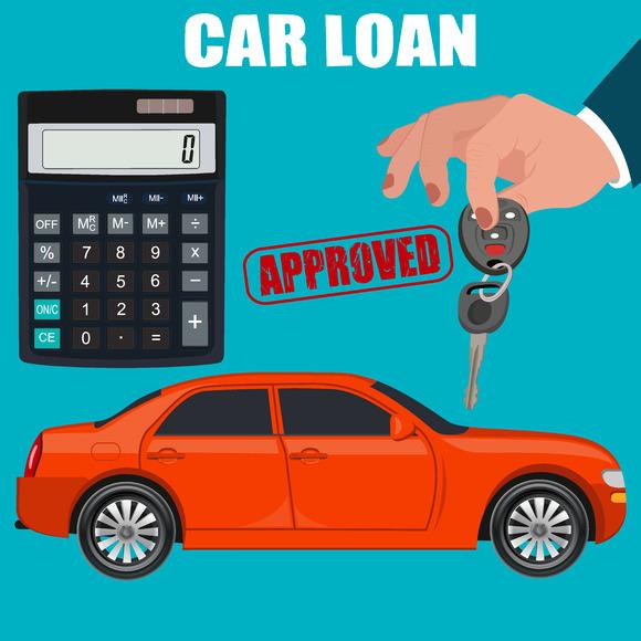 Car Loan Concept Hand Holding Key