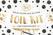 The Gold Foil Kit Essential-Graphicriver中文最全的素材分享平台