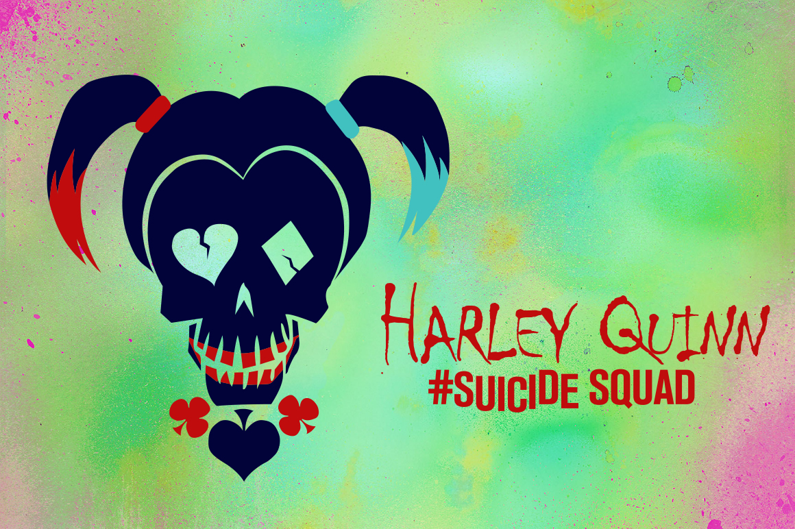 Harley Quinn Suicide Squad Vector ~ Illustrations on Creative Market