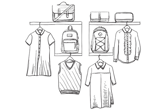 School Uniform Wardrobe