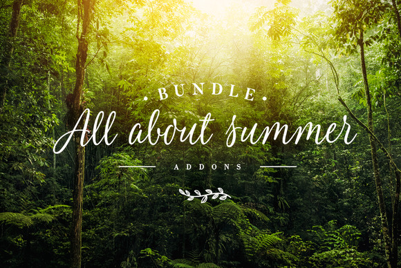 Addons Bundle - All About Summer - Actions