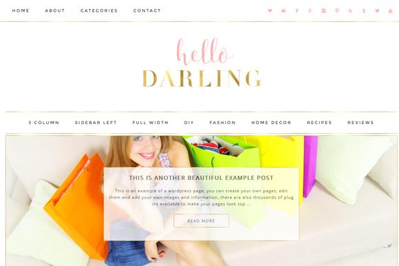 Darling - WordPress Theme - Blog
