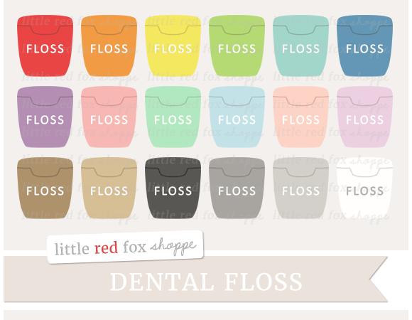Dental Floss Clipart