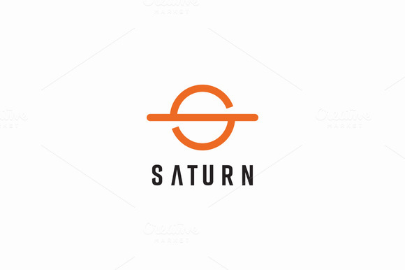 Template - Saturn Logo » Logotire.com