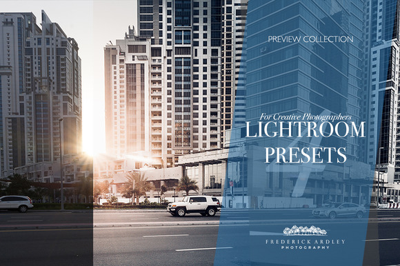 4 Lightroom Presets: Architecture - Actions