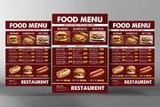 Food Menu Template-Graphicriver中文最全的素材分享平台