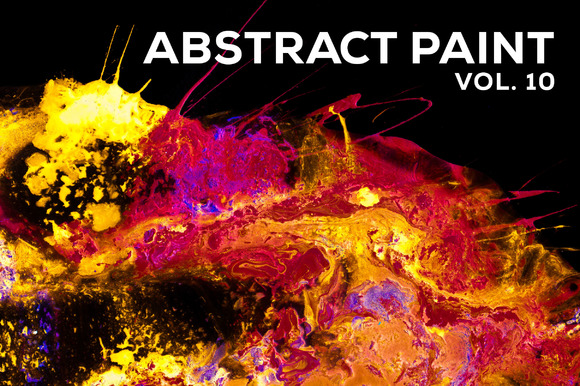 Abstract Paint, Vol. 10 - Textures