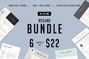 Major Resume BUNDLE   INDD -Graphicriver中文最全的素材分享平台