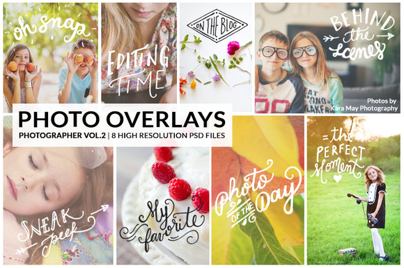 PhotoOverlays The Photographer Vol.2 - Objects