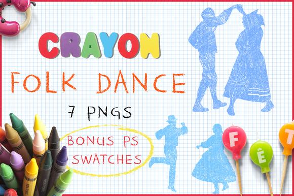 Crayon Folk Dance