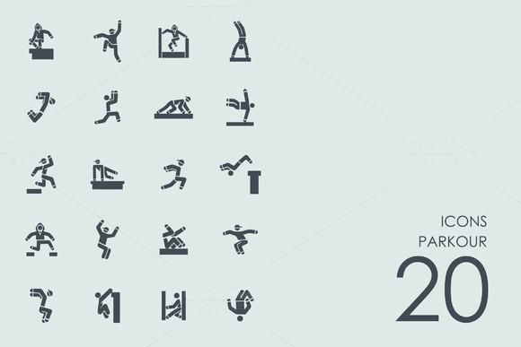 Parkour Icons