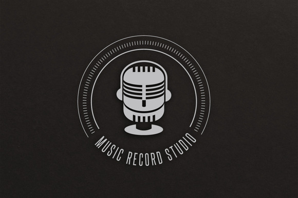 Music Records Logo Record Studio Logos