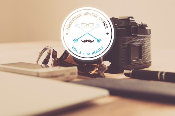 Neourban Hipster Office Vol. 3 (12x) - Objects