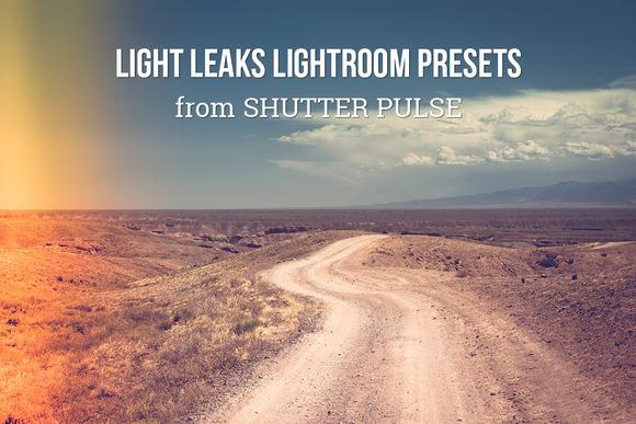 Light Leaks Lightroom Presets - Actions - 1