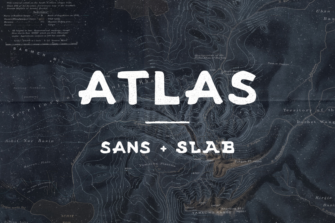 Atlas - Sans and Slab Font Download
