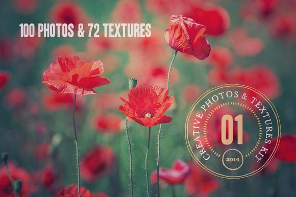 Creative Photos & Textures Kit - v.1 - Textures