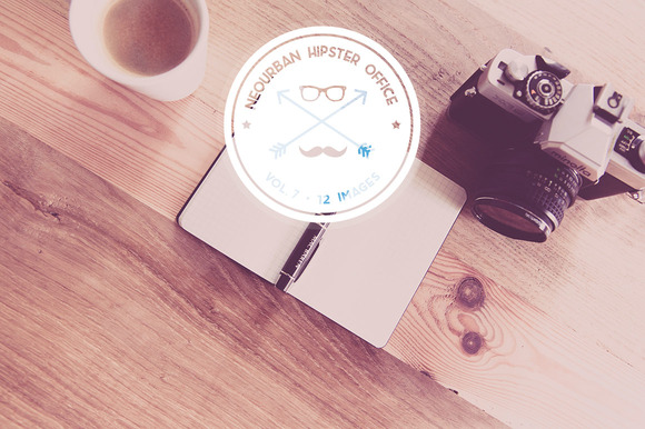 Neourban Hipster Office Vol. 7 (12x) - Objects