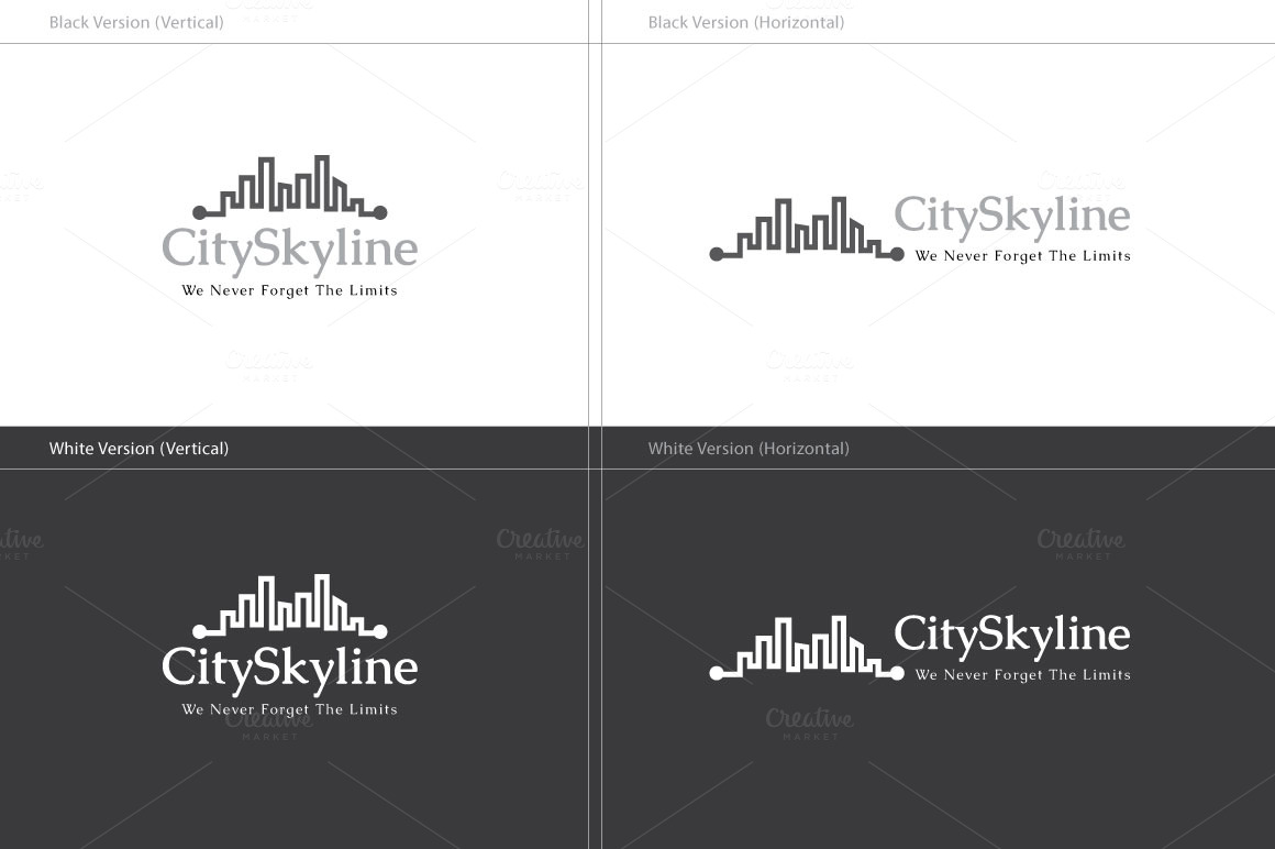 City Skyline Logo City Skyline Logo Logo