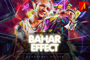 Bahar Effect Photoshop Acti-Graphicriver中文最全的素材分享平台