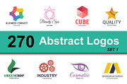 abstract logo design set 1-Graphicriver中文最全的素材分享平台