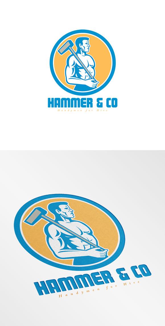 Hammer Handyman Logo