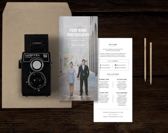 Wedding Photographer Rack Card