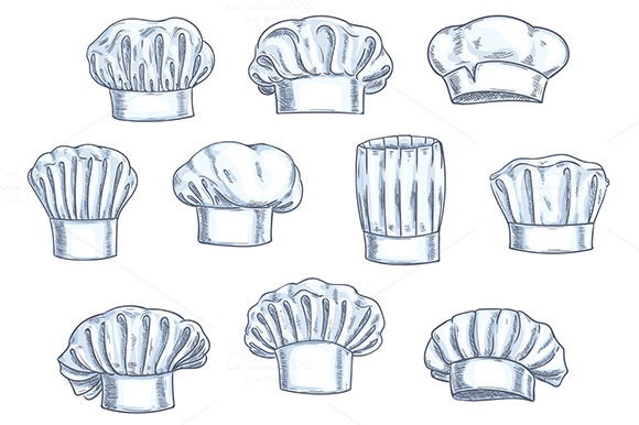 Chef Toques Caps And Hats