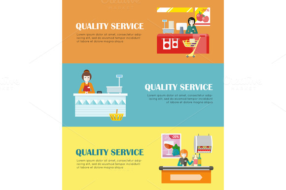 Quality Service In Supermarket