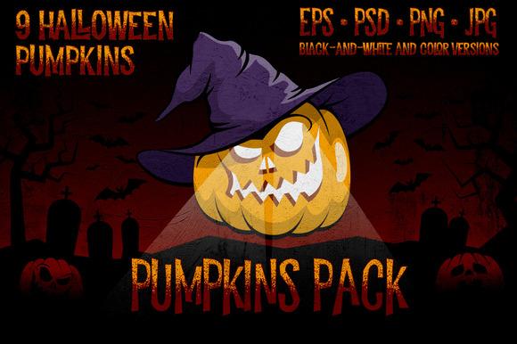 Halowen Pumpkins Pack