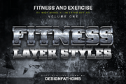 32 Fitness and Exercise Sty-Graphicriver中文最全的素材分享平台