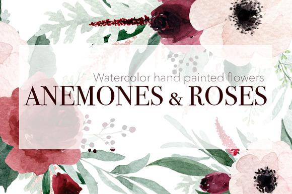 Anemones Roses