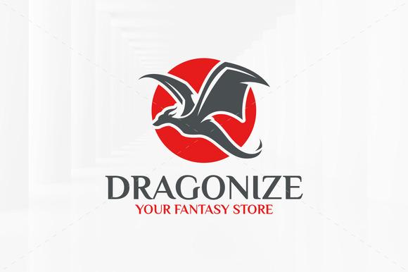 Dragonize Logo Template