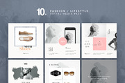 Fashion Social Media Pack-Graphicriver中文最全的素材分享平台