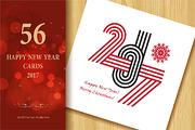 2017 Happy New Year Greetin-Graphicriver中文最全的素材分享平台