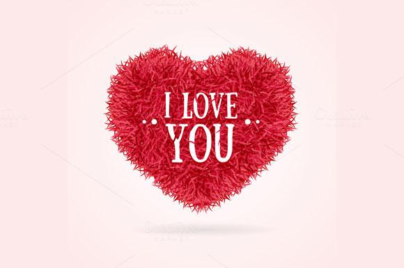 Fur Heart Concept Card