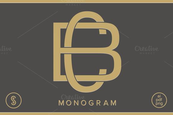 BC Monogram CB Monogram