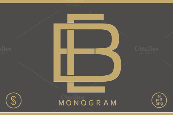 BE Monogram EB Monogram