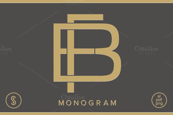 BF Monogram FB Monogram