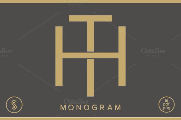 HT Monogram TH Monogram