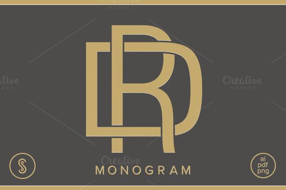 DR Monogram RD Monogram