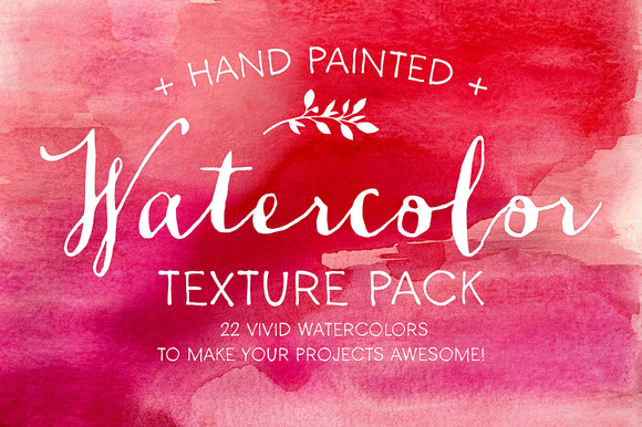 Watercolor Texture Pack - Textures - 1